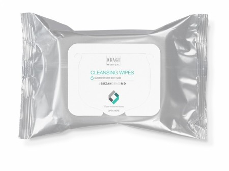 Suzan Obagi MD Cleansing and Makeup Removing Wipes 25
