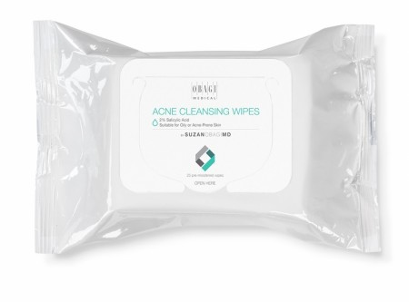 Suzan Obagi MD Cleansing Wipes for Oily/Acne Prone Skin 25